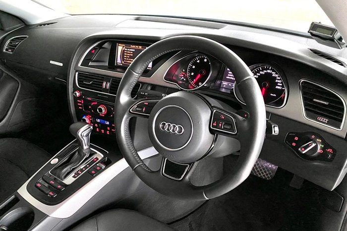 2012 – AUDI A5 COUPE TFSI QUATTRO 2.0 AT SILVER – SMV6549A full
