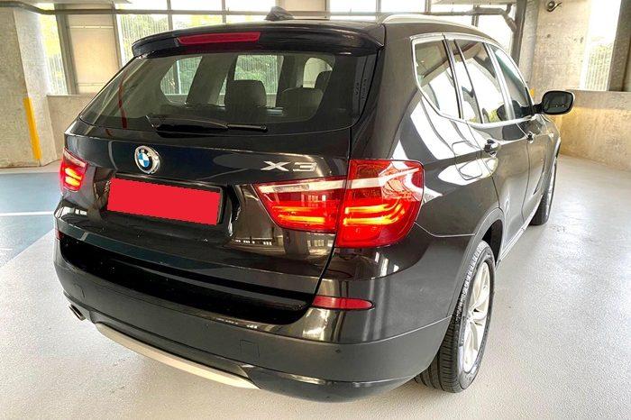 2014 – BMW X3 XDRIVE20I 2.0 AT BLACK – SKN2649L full