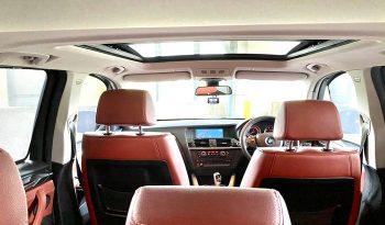 2013 – BMW X3 XDRIVE20I 4WD 2.0 AT BLACK – SLW8326U full