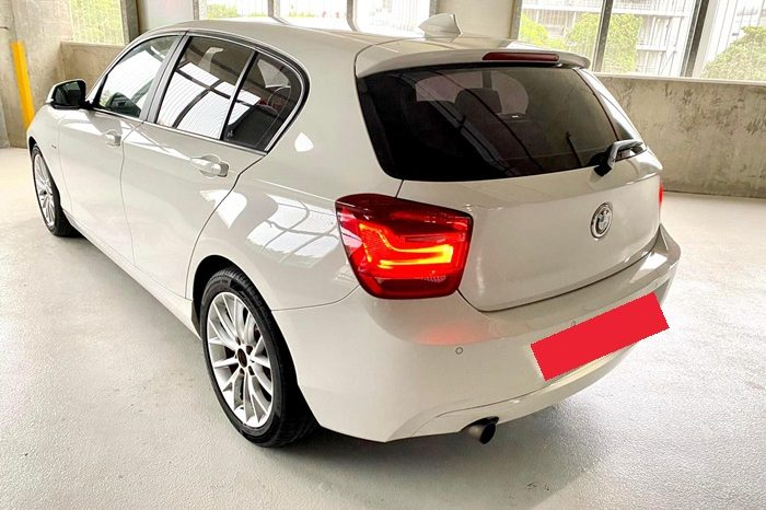 2012 – BMW 116l 1.6 2WD AT WHITE – SLH7923G full