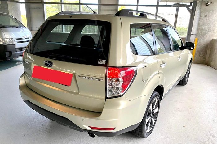 2011 – SUBARU FORESTER XT 2.0 AT GOLD – SMT3369H full