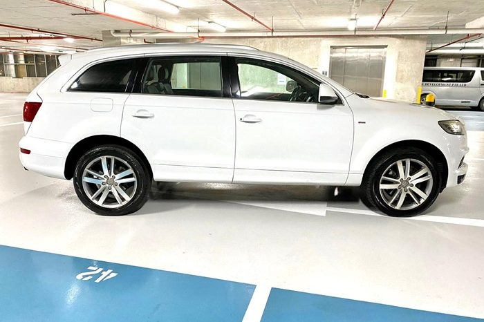 2012 – AUDI Q7 TFSI S-LINE QU 3.0 AT WHITE – SKH3463E full