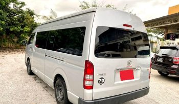 2014 – TOYOTA COMMUTER 3.0 AT SILVER – PC3363C full