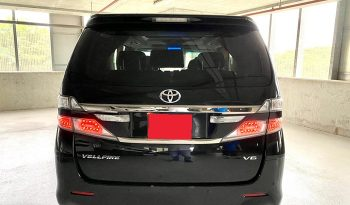 2013 – TOYOTA VELLFIRE 3.5 AT BLACK – SLK7702L full