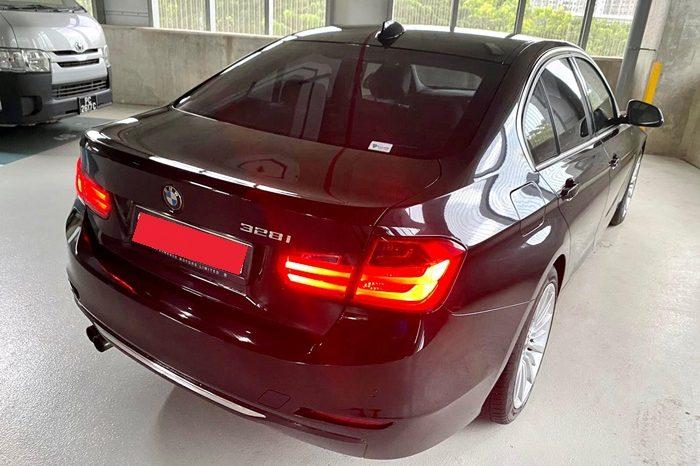 2012- BMW 328I SPORTS 2.0 AT BLACK – SKE6710M full
