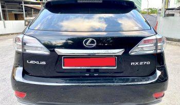 2014 – LEXUS RX270 2.7 ATBLACK – SLT6263X full