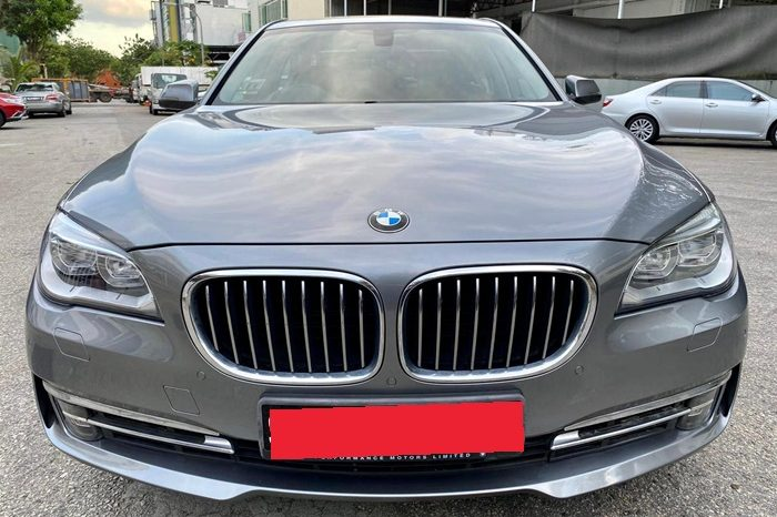 2012 – BMW 740I 3.0 AT GREY – SMX9335U full