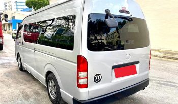 2013 – TOYOTA COMMUTER 3.0 AT SILVER – PC7543Z full