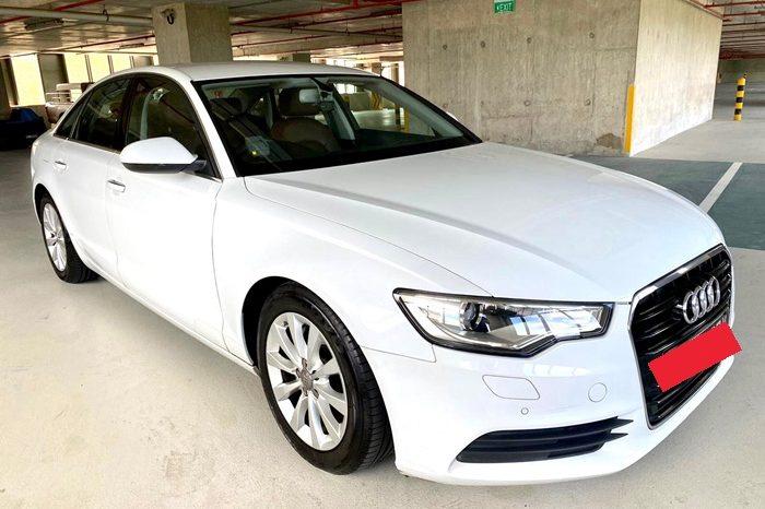 2012 – AUDI A6 TFSI MU 2.0 AT WHITE – SKH1927Y full