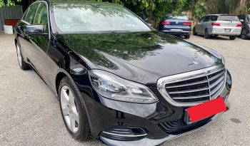 2014 – MERCEDES-BENZ E250 (R17) 2.0 AT BLACK – SMY5828K full