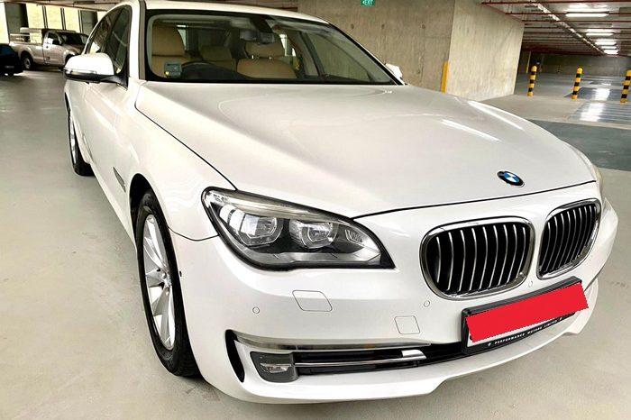 2014 – BMW 730LI 3.0 AT WHITE – SKM3972B full