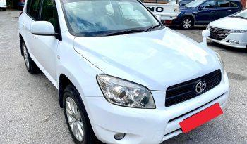 2006 – TOYOTA RAV4 2.4 AT SUV WHITE – SKQ8825P full
