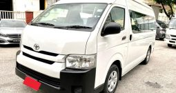 2016 – TOYOTA COMMUTER 3.0 AT WHITE – PC6833T