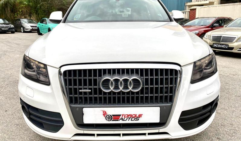 2011 – AUDI Q5 TFSI QUATTRO S-LINE  2.0 AT WHITE – SKE60U full