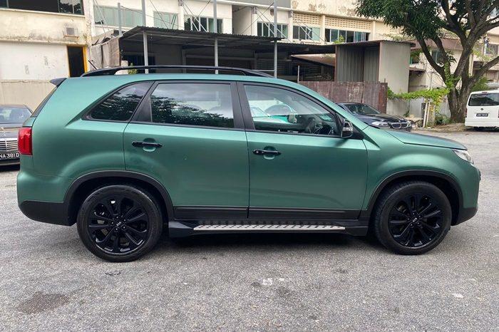 2014- KIA SORENTO 2.4 AT SUV GREEN – SLR6891T full