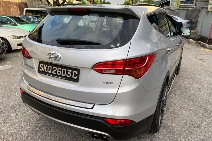 2014 – HYUNDAI DM SANTAFE 2.4 AT SUV SILVER – SKQ2603C full