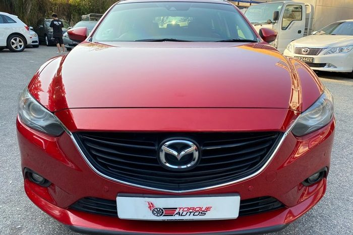 2014 – MAZDA 6 2.0 AT RED – SKS2000G full