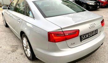 2013 – AUDI A6 TFSI MU  2.0  AT SILVER – SKM5648A full