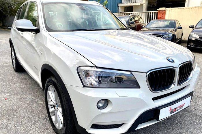 2012 – BMW X3 XDRIVE20I SPORTS 2.0 AT WHITE – SKH581S full