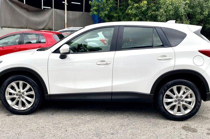 2013 – MAZDA CX-5 2.0 AT SUV WHITE – SLX5739B full