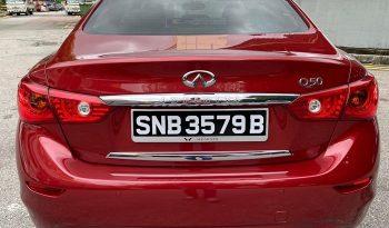 2015- INFINITY Q50 2.0 AT SEDAN RED- SNB3579B full