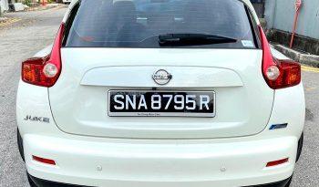 2011 – NISSAN JUKE 1.6 AT WHITE – SNA8795R full